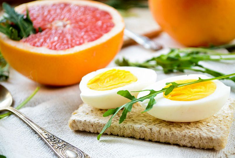 Диета завтрак 2 яйца